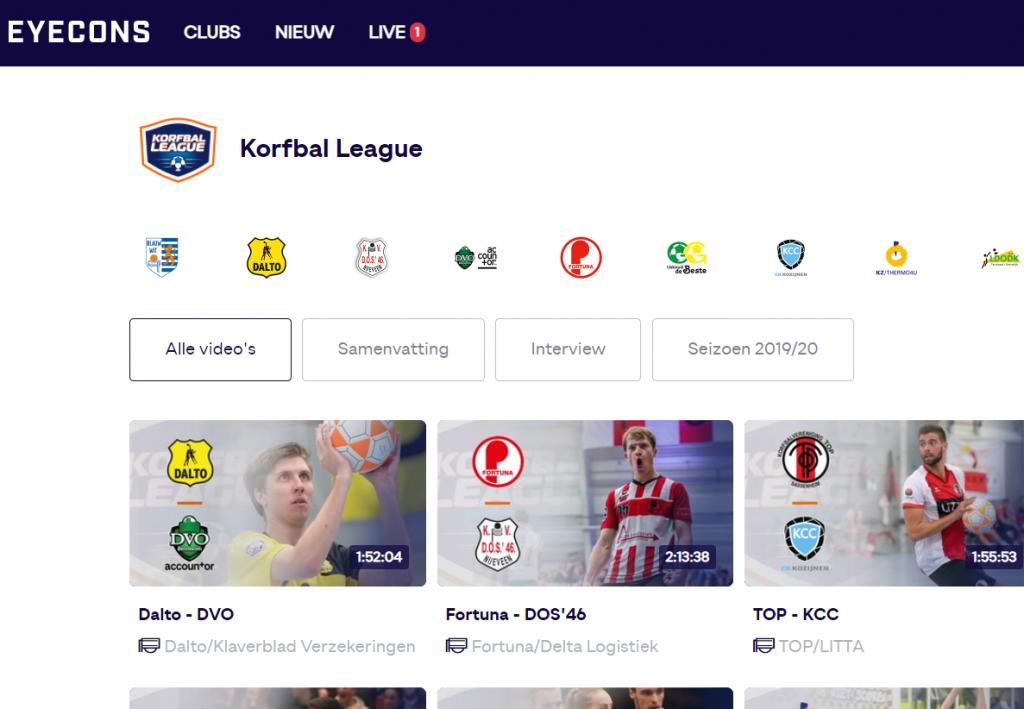 Korfbal-league